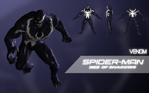 Venom (Spider-Man: Web of Shadows) by LEMOnz07