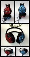 Headphones Star Wars Dark side by Lipwigs