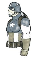 CTS Fort Rapids - Captain America by TravisTheGeek