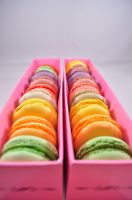 Macarons by RoxanaD