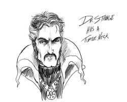 Dr. Strange quick sketch by thewalkingman