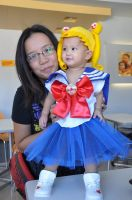 SAILORMOON THEMED 1ST BIRTHDAY by prinsesaian