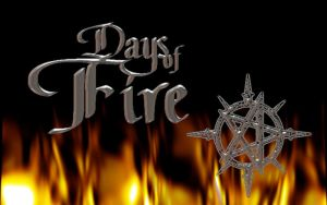 001 Days of Fire Cover by advs14u2nv