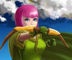 Clash of Clans default archer by nders