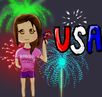 Happy Independence Day by pandachooo