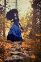 Autumn promenade by mysteria-violent