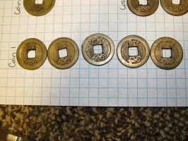 Chinese Coins #1 Front by fairybeliever87