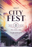 City Fest Flyer by styleWish