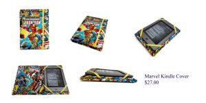 Marvel Kindle Cover 2 by The2SistersShoppe