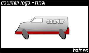.courierlogo by bainesyfellah