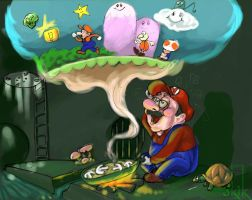 real mario world by kike3k1k
