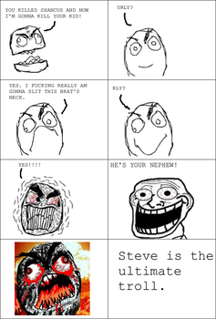 Steve is a Troll by UnresistantRunning
