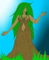Tree Woman - Mother Earth - Lady of the Forest by singingaboutthesnow