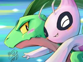 Oh My Dear Grovyle by NightWolfOfDoom9909