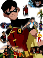 Young Justice Robin by AngelOfDeathAssassin
