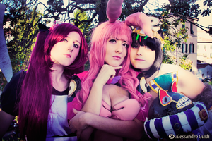 Bad Trio - Queen's Blade by GloomyElls