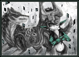 Link and Midna by Ratiazu