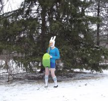 Fionna's backpack by MishaCosplay