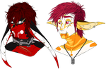 Aiden and Oracle Headshots by CosmicDerp