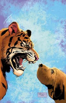 Animosity #1 cover by ReillyBrown