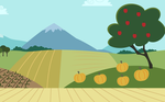 MLP FIM Background-Early Equestria Field by PieIsAwesome3123
