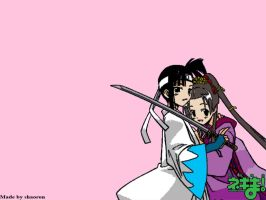 Bishoujou Hime and Samurai by shaoron