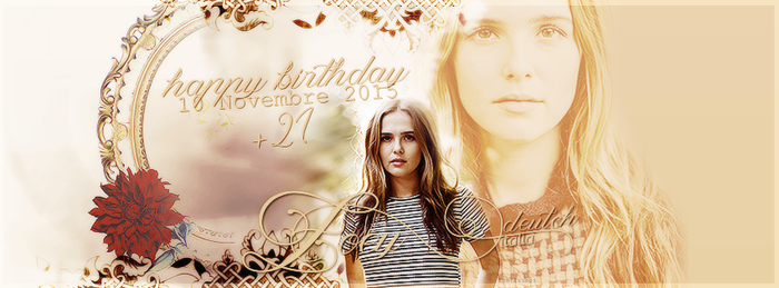 Zoey Deutch #5 by ContagiousGraphic