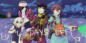 FRAGILE COUNTDOWN - 6 DAYS by Tamaya-Kagiya