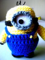 Despicable Me Minion Amigurumi by lillybearbutt