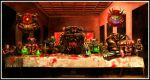 Doom's last supper by FASSLAYER