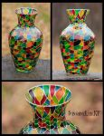 scaly vase by SunshineLiarRF