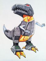 Grimlock by RuF2000
