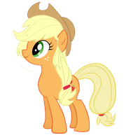 Applejack Hairstyle Equestria Girls by ThisBrokenBrain
