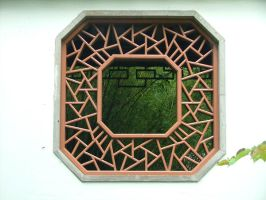Chinese Gardens Window by oakstock