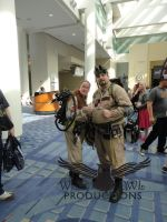 Two Ghostbusters by OtakuDude83