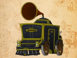 Armoured Acoustic Carriage by introvert13