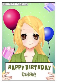 Happy Birthday Cubie! by TheUltimateShipper27