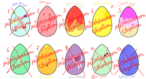 Adventure Time Egg Adopts - 5 Open by MissBlossomUtonium