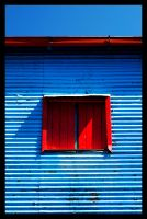 Red and Blue by titaanzink by minimalism