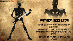 Wither Skeleton Journal Entry by Vectorman316