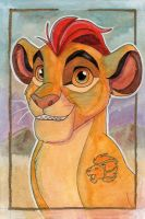 Traditional Media: Kion by The-Hare