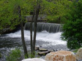 Townsend Harbor Falls by lilly-peacecraft