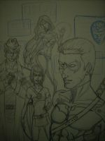 Young Justice 2020 WIP 2 by AnielaAbair