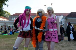 Bonney, Cindry, Conis - One Piece cosplay by Vergina-spva