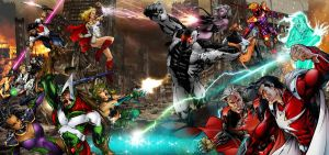 Universals vs. Syndicate by Katase6626