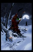 Spawn: Moon Cover retouched by sludger
