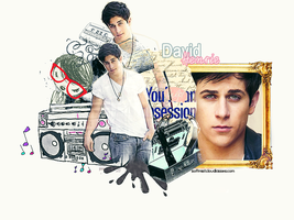 David Henrie Graphic by softmist93