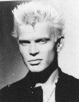 Billy Idol Photo Mosaic by whendt