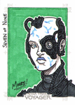 Borg Seven of Nine - Sketch Card by SeanRM