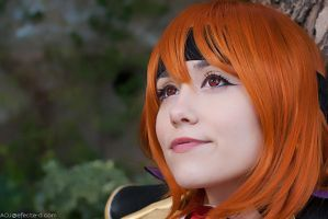 Lina Inverse - Ruby Eyes by NunnallyLol